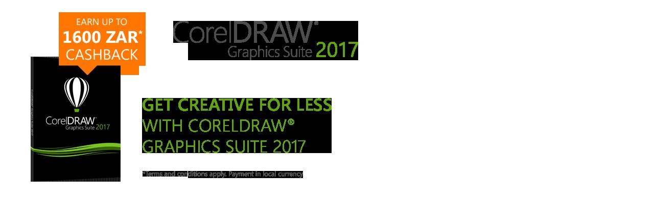 Corel DRAW Graphics Suite 2017 Cashback Campaign